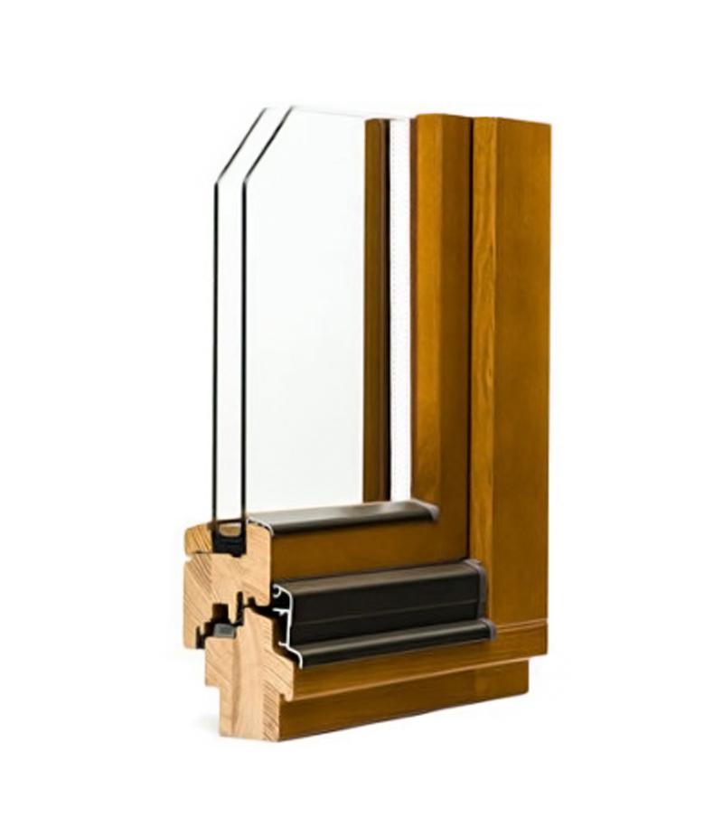 Janelas de madeira série standart 68