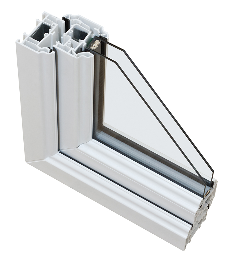 Janelas em PVC de vidro duplo